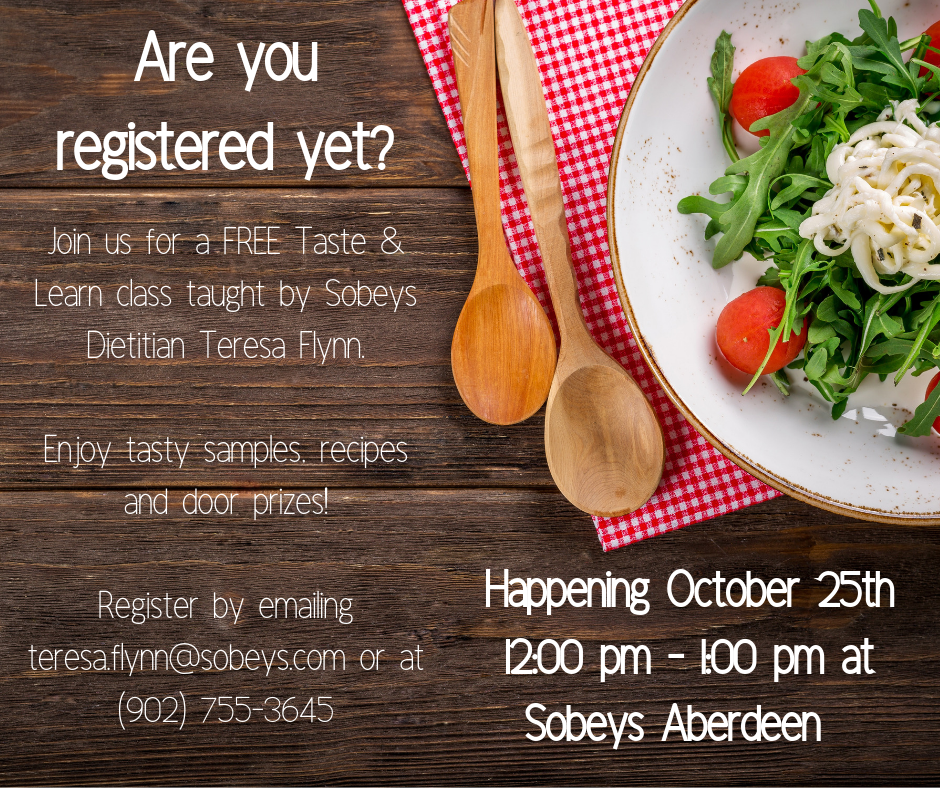 Are you registered yet sobeys